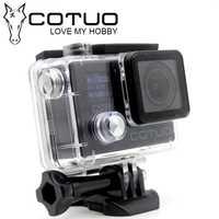 Cámara de Acción COTUO CS78 30 m impermeable 2,0 'pantalla LCD 1080 p 30fps 16MP WIFI remoto Mini cámara deportiva ir Extreme pro Cam 4000