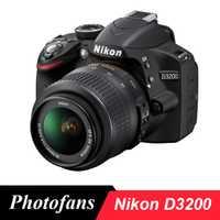 Cámara Nikon D3200 DSLR con lente 18-55-24.2MP-Vídeo (nuevo)