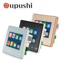OUPUSHI A3 Pared de cine en casa mini Sistema de pared amplificador con Bluetooth SD USB hembra