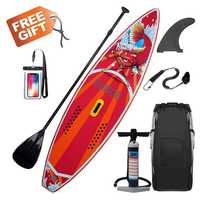 300x76x15 cm 10FT SUP inflable Stand Up Surf Placa de Surf Paddle junta con estilo de bolsa
