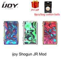 Regalo gratis Ijoy SHOGUN JR 126W Vape TC Mod apto para SUBOHM tanque vaporizador E-cigarrillo mod con UNIV chip-en el conjunto del Shogun UNIV Mod