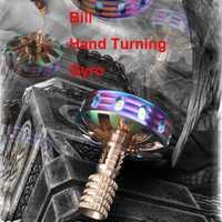 Nueva ley dedo giroscopio manualmente la rotación de juguete dedo EDC SPINNER fidget juguete de descompresión