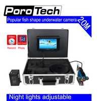 SY801 20 m agua profunda popular forma de pez Cámara subacuática 7
