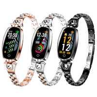 Nuevo HD Color impermeable Reloj inteligente Mujer multifunción Reloj electrónico pareja deportes pulsera Reloj hombres Bluetooth Reloj de Mujer
