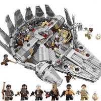 Force réveille Star Set Wars série Compatible 79211 millénium Falcon chiffres modèle blocs de construction jouets pour enfants