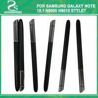 10 unids nueva n8000 táctil Lápices para pantalla táctil para Samsung Galaxy note 10.1 n8000 n8010 stylet bolígrafo capacitivo móvil