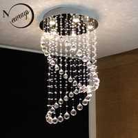 Europa loft araña con GU10 5 luces cristales retro clásica lámparas para dormitorio salón vestíbulo del hotel restaurante comedor