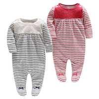 Pintoresco la tienda oficial de 2-1 Unisex de impreso de lana sudaderas dormir y jugar mono recién nacido 103