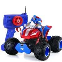 Nueva llegada 33 cm capitán coche 2.4g 2 Motores unidad grande fuera de carretera coche de control remoto carga drift racing modelo de coche de juguete de los niños