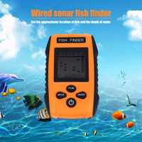 Portable Fish Finder 0,7-100 M pesca de profundidad Finder con Sensor ecosonda alarma Smart Fish Finders para fising