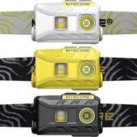 2018 Nitecore NU25 3 xLED faro recargable 360 Lumen Triple salidas ligero linterna exterior carrera ciclismo