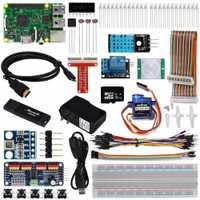 OSOYOO el último Raspberry Pi 3 Internet de las cosas IOT completo Kit de iniciación con RPi3 Modelo B (21 artículos)