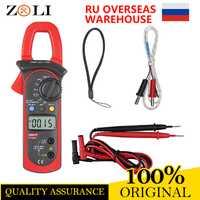 UNI-T UT204A 400-600A Digital AC DC temperatura condensador UT204A Auto de la gama de tensión de la continuidad timbre UT-204A