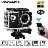Impermeable Ultra HD 4 K UHD acción deporte Video cámara WiFi videocámara FHD 1080 p DV Cam gran angular Go Deportiva 2 pulgadas LCD Pro 32G