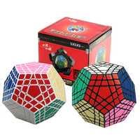 5x5 Megaminx cubo Gigaminx cubo mágico rompecabezas en blanco y negro de 5x5 velocidad Cubo de juego y aprendizaje educativos Cubo mágico Juguetes