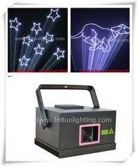 Iluminación láser evento 500 MW RGB luces láser a todo color