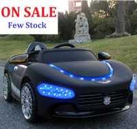 En solde!!! Hot-vente Maserati Enfants Voiture Électrique Tour Sur avec Télécommande et Phare Bleu