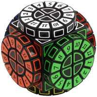 Máquina del tiempo Cubo mágico creativo recuerdo edición rompecabezas juguete Cubo mágico con pegatinas gratis Extra X'mas regalo idea regalo de cumpleaños