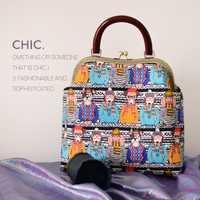 Mujeres bolso 27 cm Metal bolsas Professiona artesanías hechas a mano bricolaje Material paquete regalo para el amigo (29 cm * 30 cm * 9 cm)