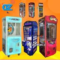 Máquina de regalos arcade grúa de juguete/máquina de regalos Arcade/pórtico de Taiwán/garra grande/equipos de entretenimiento