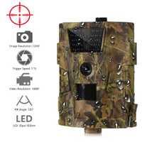 Suntekcam HT-001B caméra de pistage 12MP 1080 P 30 pièces Led Infrarouge 850nm caméra de chasse IP54 Étanche 120 Degrés Angle Caméra Sauvage