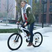 Bicicletas de montaña bicicleta 26 pulgadas 21*24*27 velocidad bicicleta 27 velocidad 2018 MTB bici hombres Bicileta carretera las carreras de carretera bicicleta negro