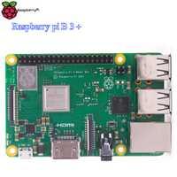 Frambuesa Pi 3 Modelo B + a bordo 2,4g y 5g WIFI Cpu 1,4 GHz añadir poE Raspberry Pi 3 más Pi3B +