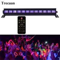 6 leds 9 leds 12 leds UV de la arandela de la pared DMX etapa efecto de luz Bar negro Fiesta Club discoteca luz para de la fiesta de Navidad de la boda