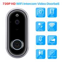 720 P Wireless WiFi Video timbre inteligente, Video, intercomunicador IR visión nocturna resistente al agua timbre Control remoto a través de teléfono móvil
