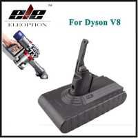 Eleoption alta calidad 21,6 V 2800 mAh/60.48Wh batería recargable Li-ion para Dyson V8 serie