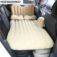Flocage lit de voiture fournitures intérieures automobiles lit de voyage de voiture lit gonflable matelas de voyage de voiture canapé tour Double