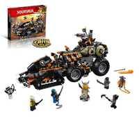 Nuevo compatible Legoinglys Ninjagoing la serie Dieselnaut conjunto de bloques de construcción ladrillos juguetes para niños Navidad apoyo Dorpshipping