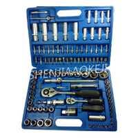 108 unids/set conjunto manga herramienta de reparación de automóviles KH-1080 combinación herramienta llave de acero al cromo-Vanadio