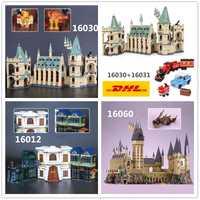 DHL H & HXY 16030, 16012, 16031, 16060 Harry magia Potter Hogwarts Castillo La escuela educativos modelo de construcción de 4841, 4842, 10217, 71043