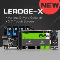 LERDGE-X controlador brazo 32bit Junta A4988 DRV8825 LV8729 tmc2100/2208 conductor para Reprap 3d impresora de placa base 3,5