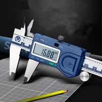 Pied à coulisse électronique de haute précision 0-150-200-300 Mm pied à coulisse pour règle d'étrier d'affichage de série industrielle Syntek