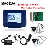 Maozua V4.94 Digiprog3 unidad principal de Digiprog III V4.94 Digiprog 3 con OBD2 ST01 ST04 Cable odómetro herramienta de corrección