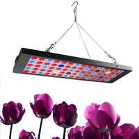 Crecen espectro completo llevado 15 W alta luminosa luz del Panel rojo azul UV IR LED lámpara creciente Fitolampy para semilla hydro Flor de invernadero
