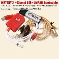 2020 clé MRT d'origine 2 Dongle + pour GPG xiao mi Mei zu câble EDL + UMF tous les câbles de démarrage commutation facile et mi cro USB à type-c