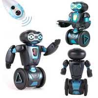 Control de voz Rc Robot juguetes para los niños de 5 modos de funcionamiento de Control remoto inteligente Humanoide robótica presente juguetes electrónicos