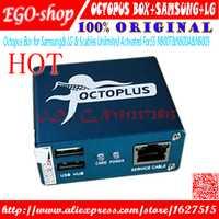 Gsmjustoncct 2018 pulpo/Octoplus caja para SAMSUNG 5 Cables para SAM desbloquear Flash