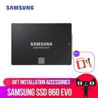 SAMSUNG interna EVO SSD 860 250GB 500GB 1TB 2TB 4TB de Disco de estado sólido de 2,5 pulgadas SATA3 portátil PC de escritorio TLC Disco Sata Iii Ssd