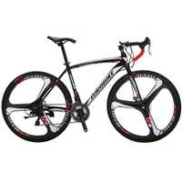 Cyrusher XC550 carreras de Bicicleta de carretera 700Cx28C marco de acero 21 velocidad 27,5