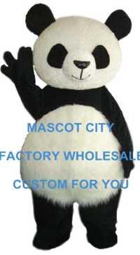 Grasa kawaii Panda Mascotas tamaño adulto panda gigante carnaval fiesta Cosplay Mascotas te Mascotas un ajuste kit traje ccsme envío Gratis sw1060