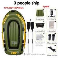 1 punid 3 persona kayak gruesos botes de goma inflable barco de pesca kayak de asalto hovercraft barcos