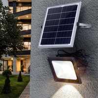 Lámparas solares de nuevo estilo luces de jardín al aire libre lámpara de energía Solar luz de inundación Led Rural lámpara de calle de proyección de césped impermeable