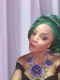 Yulaili cuentas nigeriano collar de joyería conjunto para las mujeres bodas gran Dubai oro Color joyería conjuntos joyería etíope