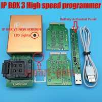 100% original caja ip IP BOX3 ip de alta velocidad programador para teléfono pad de memoria en el disco duro herramientas de actualización 16G to128gb
