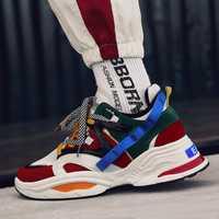 INS papá Vintage zapatillas de deporte 2018 kanye west 700 luz transpirable zapatos casuales de los hombres zapatillas de hombre casual tenis masculino