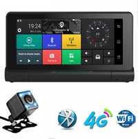 1080 p coche plegable DVR GPS Cámara 6,86